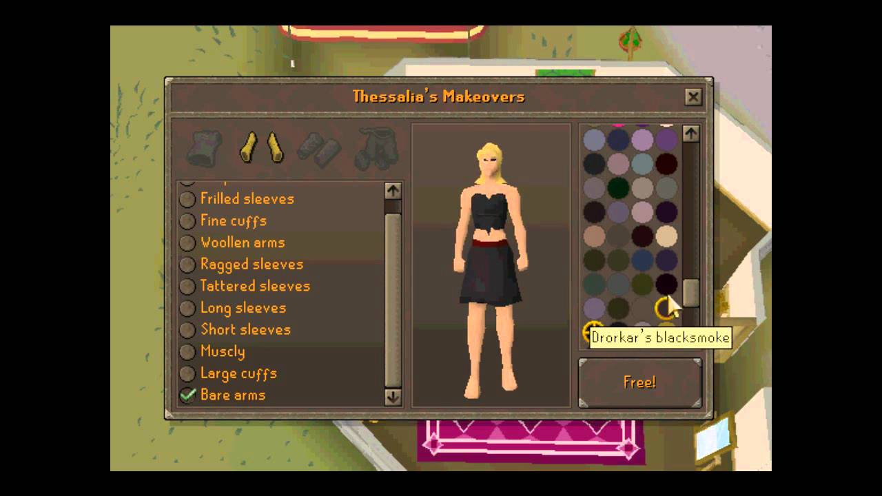 How To: Get Naked on Runescape - YouTube