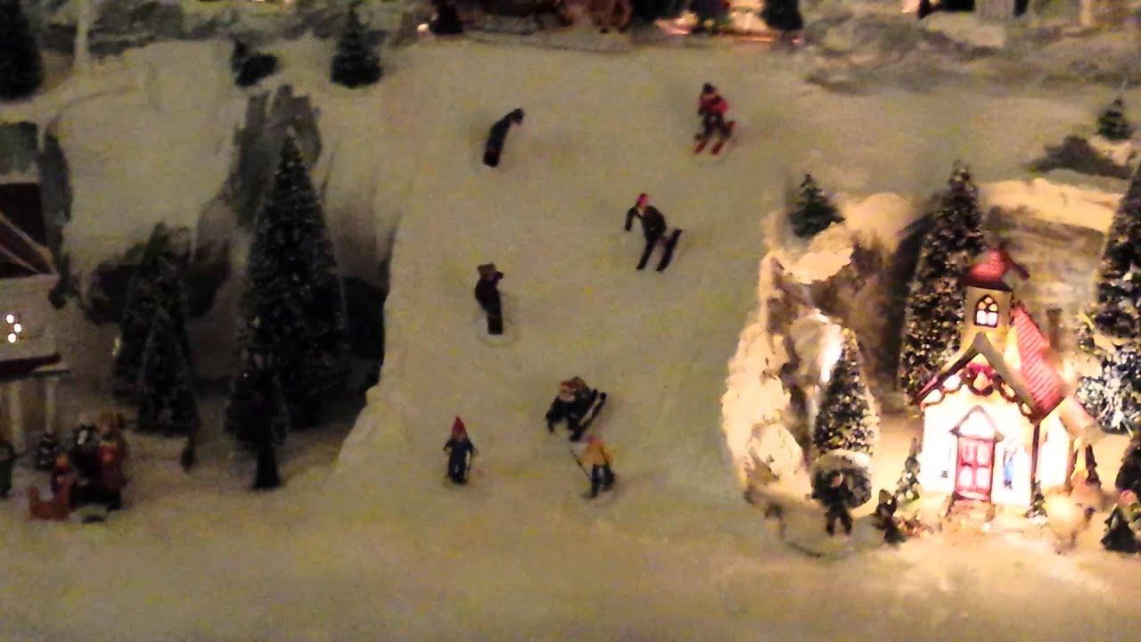 Winterlandschaft 2015 selber machen youtube - Winterlandschaft deko ...