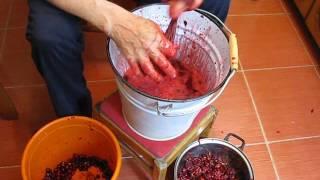 сок из вишни быстро