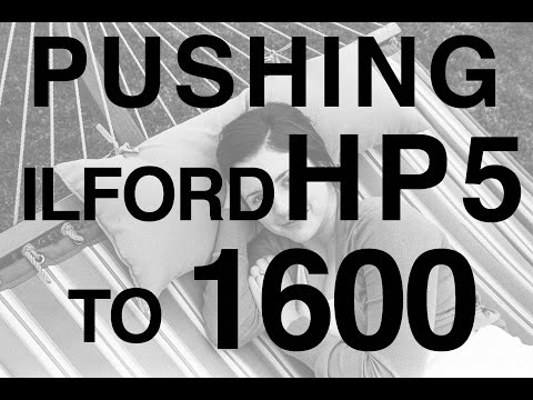 Pushing Ilford HP5 to 1600