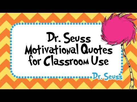 60 Dr Seuss Motivational Quotes Teacher Resources For The Best Motivational Quotes For Teachers