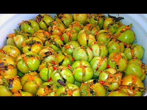 Как приготовить армянчики из зеленых помидор