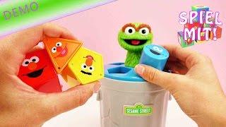 Oskar Sesamstrasse - Spielzeug für Kleinkinder - Pädagogisch wertvoll - Lernspielzeug Demo
