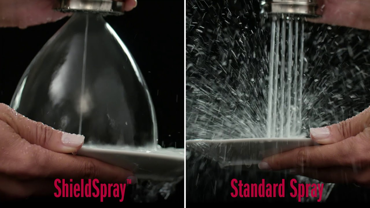 Delta Kitchen Faucets with ShieldSpray™ Technology - YouTube