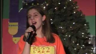 "Allie & PS22 Chorus ""A Silent Night With You"" Tori Amos (Holiday Show 2009)"