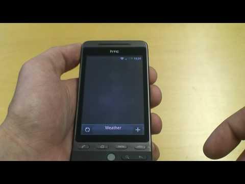 HTC Hero Android Market