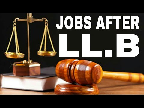 Career Options After LLB | Jobs After Law Degree | Career in Law |