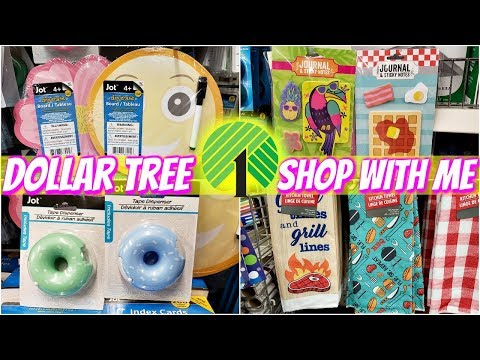 DOLLAR TREE * NEW * JOT FINDS APRIL- SHOP WITH ME 2019