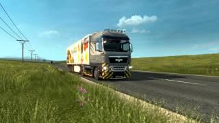 Держим путь в Усть-Цильму #1 - Euro Truck Simulator 2