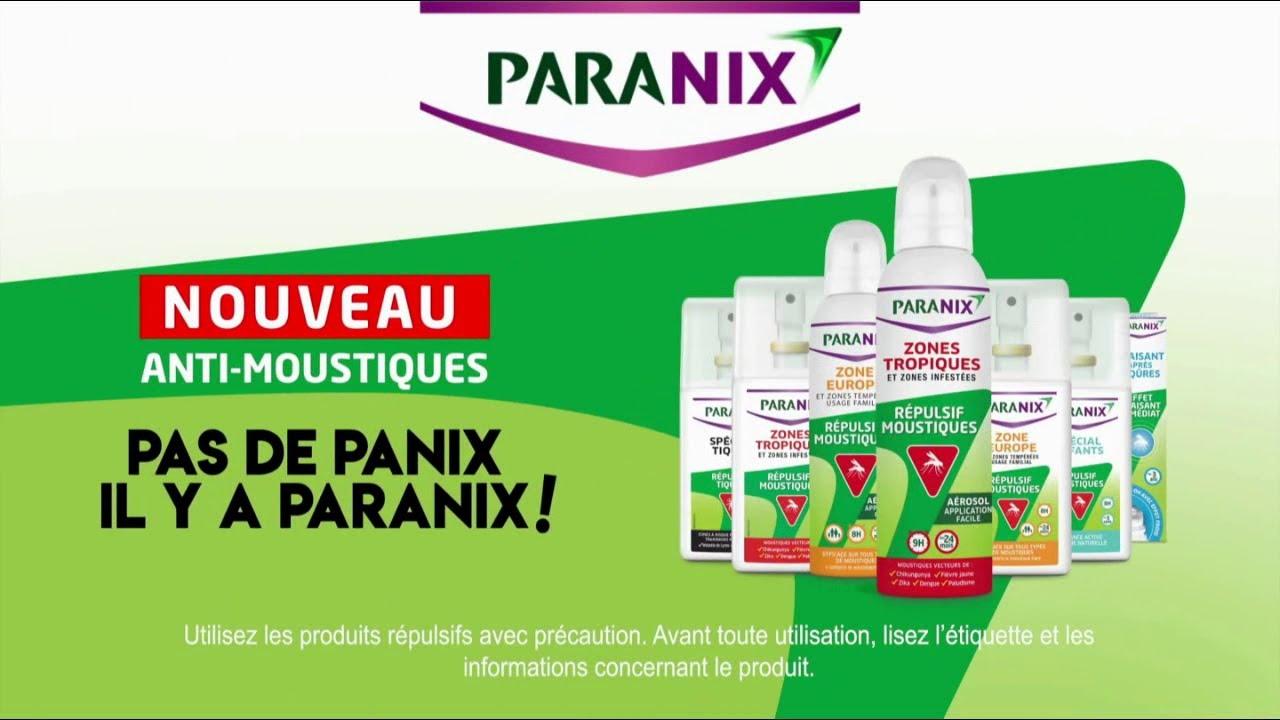 """Musique de la pub Nouveau anti-moustiques Paranix """"pas de panix il y a paranix!""""  2021"""