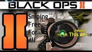 Black Ops 2 FFA Sniping Faze Fakie?