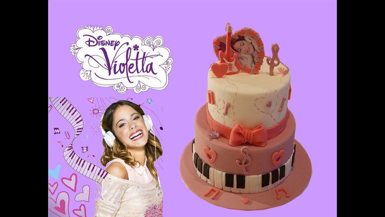 Recette gateau violetta violetta cake cake design - Jeux de fille de violetta ...