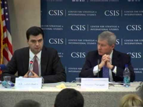 Video: Statesmen's Forum: His Excellency Lulzim Basha Foreign Minister of Albania
