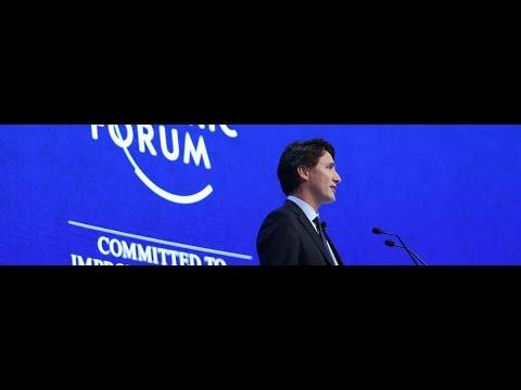 Trudeau breaks unwritten rule of Western politics while speaking in Davos