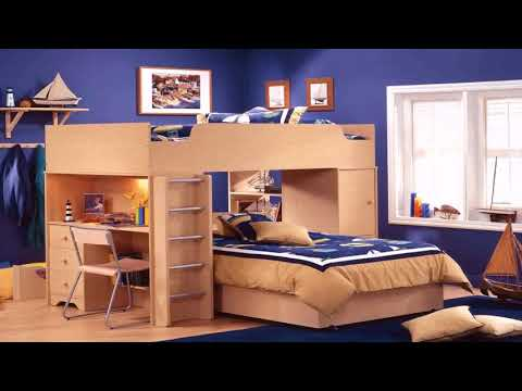 Bedroom Design With Bunk Bed