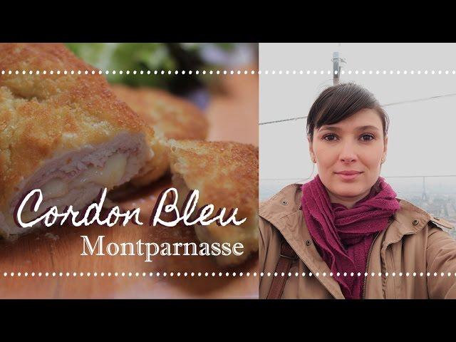 FRANGO CORDON BLEU + Passeio por Montparnasse