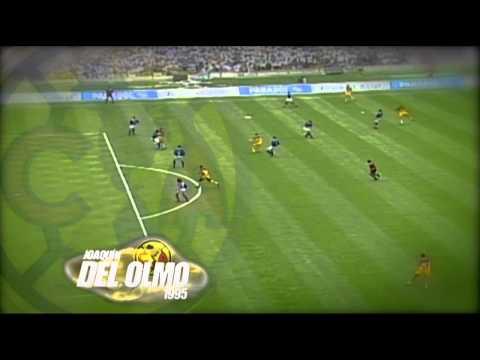 Grandes goles Joaquín del Olmo golazo a Cruz Azul 1995