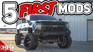 The First 5 Mods You Must Do To Your Truck