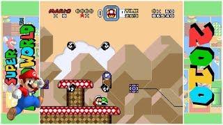 Super Mario - Bowser's Shinedown (D) | Super Mario World Hack