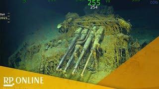 """""""USS Lexington"""": Weltkriegs-Wrack von 1942 im Pazifik gefunden"""