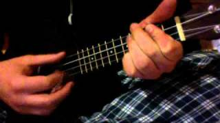 Wouldn't it be nice (The Beach Boys cover, ukelele first timer, no lyrics, slightly messed up)