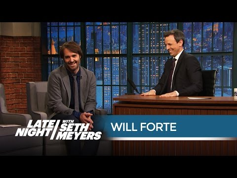 Watch the Hilarious Speech Will Forte Gave at Seth's Rehearsal Dinner  Late Night with Seth Meyers