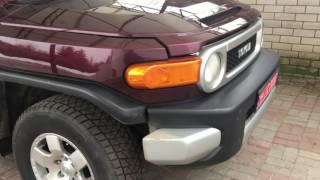 Купили новую машину Toyota FJ Cruiser