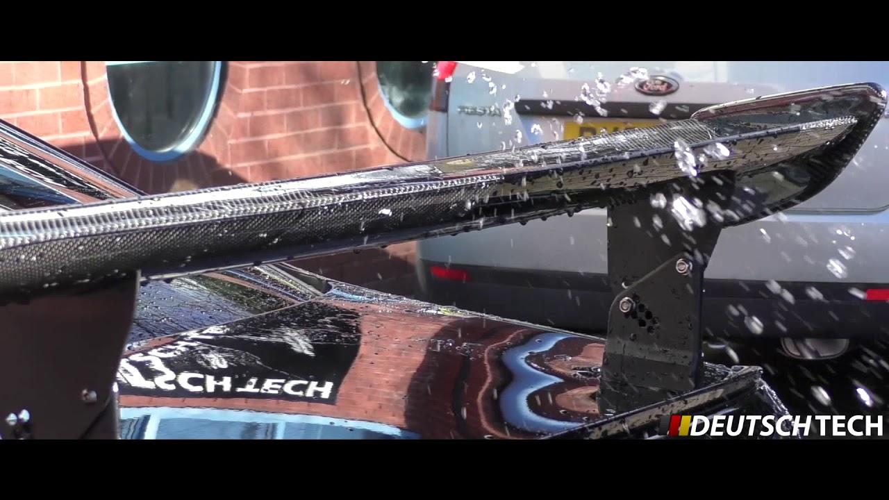 Carbon Gts Spoiler Install E92 M3 By Deutsch Tech