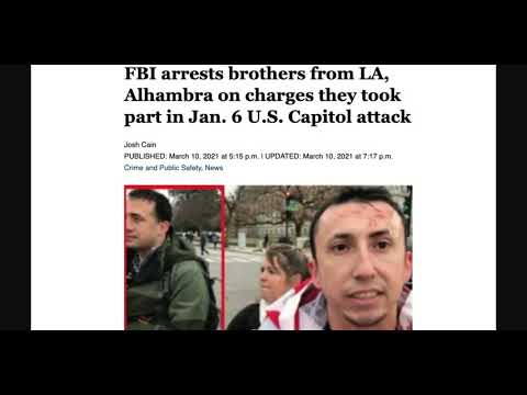 FBI Nab 2 Southern California Brother Over The Insurrection
