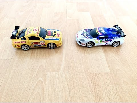 Racer's Group World Express Speedy Yellow and White Racing Cars #cars #racingcars #toysworlduk