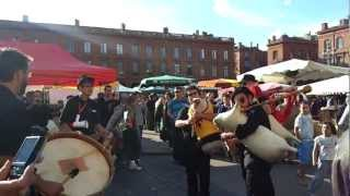 Occitan bagpipe music in Toulouse