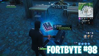Fortnite Battle Royale ? Fortbyte Challenges How to get the Fortbyte #98