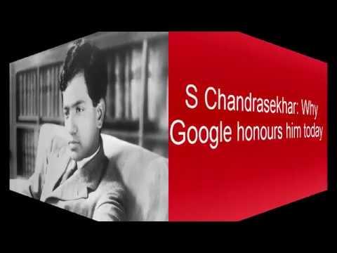 S Chandrasekhar: Why Google honours him today