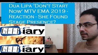"Baixar Dua Lipa - ""Don't Start Now"" Live   MTV EMA 2019 - She Found Stage Presence?"