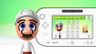 Mii Maker How to make Fire Form Mario Mii (Mario Bros) Free Tutorial Walkthrough Nintendo