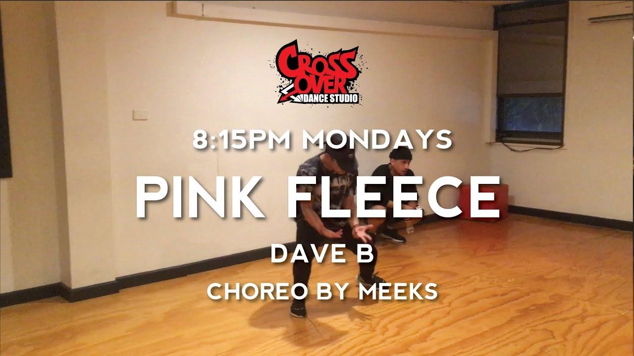 Pink fleece dave b