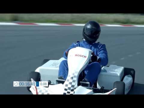 Motorsports: La máxima velocidad par un Karting eléctrico de BOSCH.