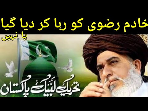 Khadim Hussain Rizvi or afzal Qadri  Ko Reha Kr Deya Gyea | TLP Leaders | Haqeeqat News