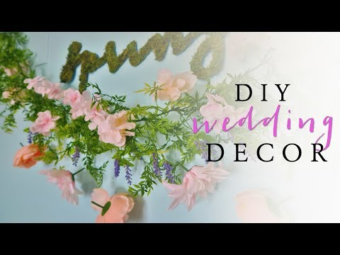 Dollar Tree DIY Wedding Decor | Spring Home Decor