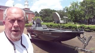 2009 War Eagle 1754 boat Walkaround