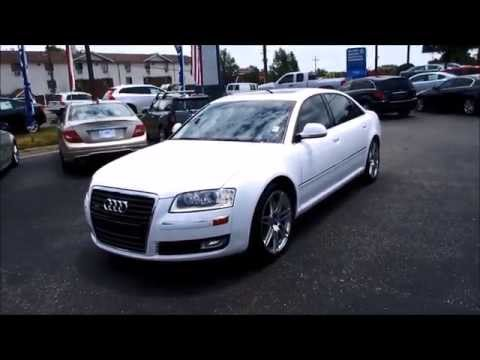 2009 Audi A8L 4.2 Quattro Walkaround, Start up, Tour and Overview