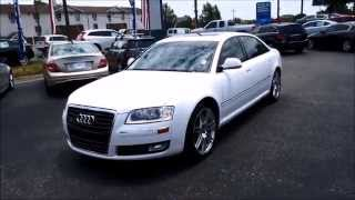2009 audi a8l 42 quattro walkaround start up tour and overview