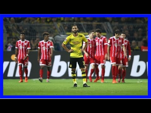 Bv borussia 09 dortmund v fc bayern münchen match report, 11/4/17, bundesliga | goal.com