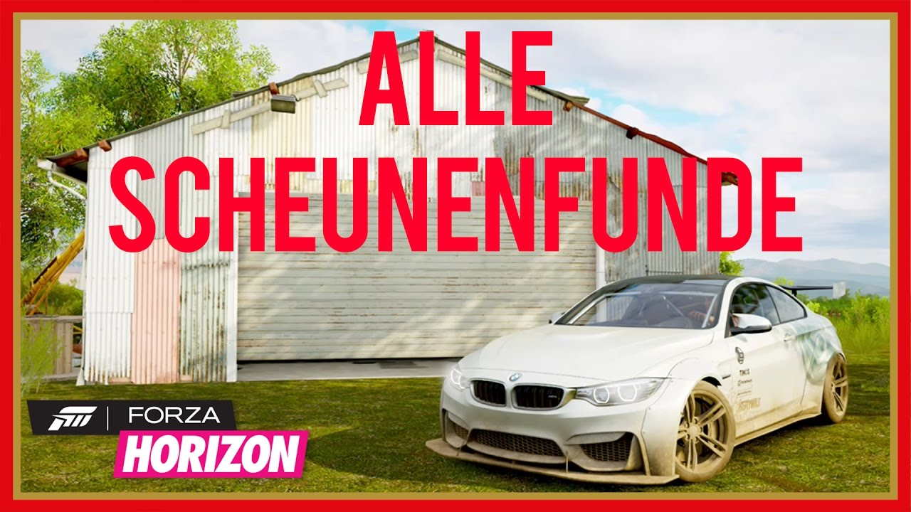 forza horizon 3 scheunenfunde karte ALLE SCHEUNENFUND LOCATIONS IN FORZA HORIZON 3 | Stellesh   YouTube