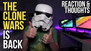 The Clone Wars is back! - Star Wars News