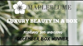MapleBlume Unboxing | WINNER | Tammy's Ageless Beauty