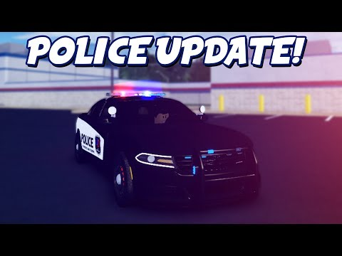 POLICE UPDATE + 13 NEW CARS in ULTIMATE DRIVING UPDATE! (Roblox)