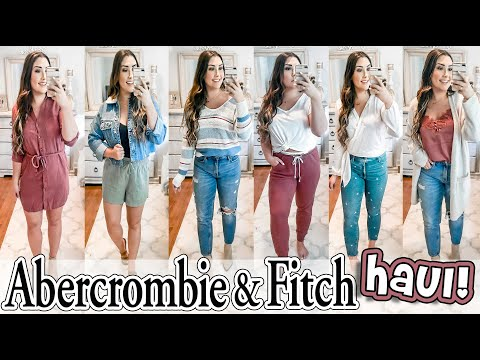 ABERCROMBIE & FITCH FALL TRY-ON HAUL