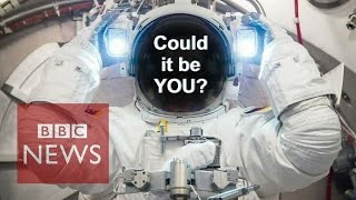 Could you handle astronaut training? BBC News