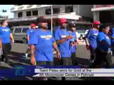 Team Palau Aims For Gold At The 8th Micronesian Games ...